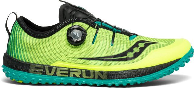 saucony Switchback ISO Shoes Men citron